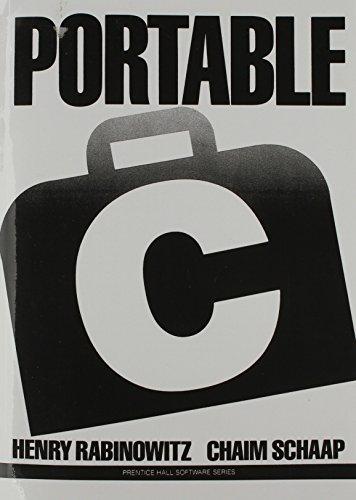 9780136859673: Portable C (Prentice Hall Software)