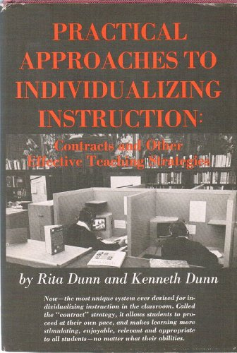 9780136871033: Practical approaches to individualizing instruction;: Contracts and other effective teaching strategies