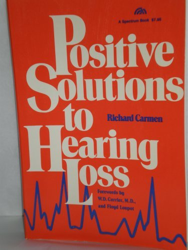 9780136875826: Positive solutions to hearing loss