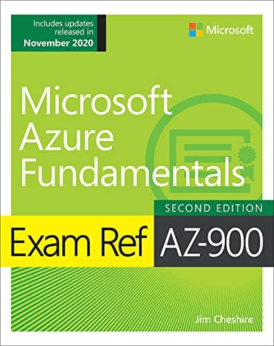9780136877189: Exam Ref AZ-900 Microsoft Azure Fundamentals
