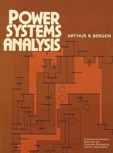 9780136878643: Power Systems Analysis (Prentice-Hall Series in Electrical and Computer Engineering)
