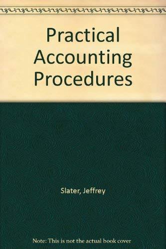9780136881438: Practical Accounting Procedures