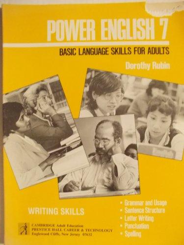 Power Eng 7: Basic Lang Skls Adults: Dorothy Rubin