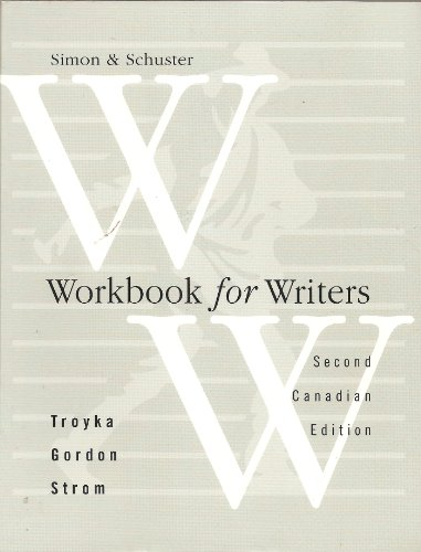 Simon and Schuster Handbook for Writers: Lynn Quitman Troyka