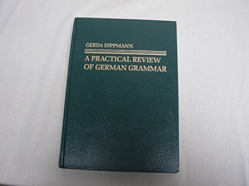 9780136900900: A Practical Review of German Grammar