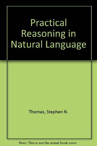 9780136921370: Title: Practical Reasoning in Natural Language