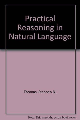 9780136921530: Practical Reasoning in Natural Language