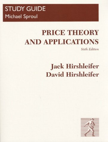 9780136922704: Price Theory and Applications