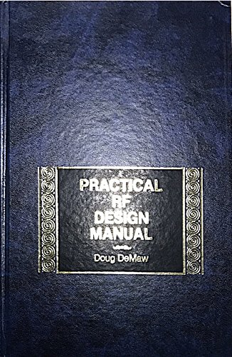 9780136937548: Practical Rf Design Manual