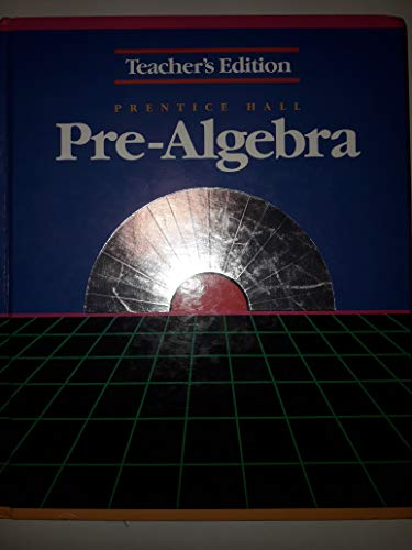 Prentice Hall Pre-Algebra Teacher's Edition (0136939201) by Davison, David M.; Landau, Marsha S