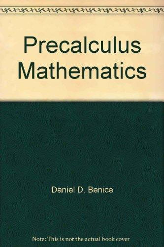 9780136949763: Precalculus mathematics