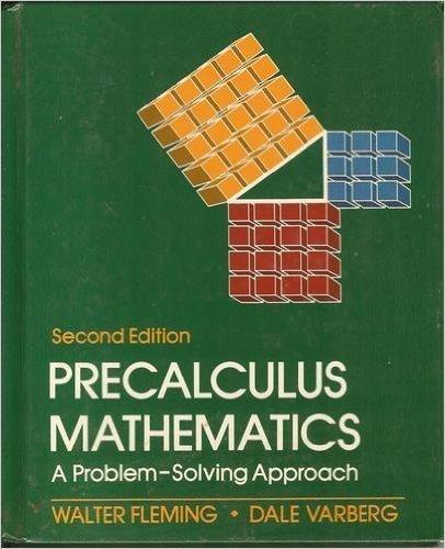 9780136950080: Precalculus Mathematics: A Problem Solving Approach