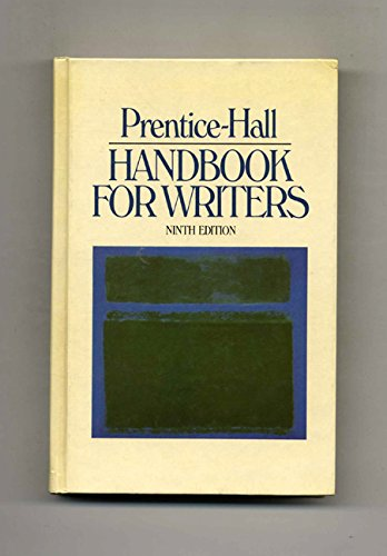 9780136952060: Prentice-Hall handbook for writers