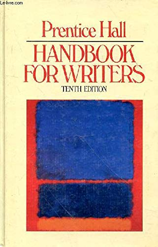 9780136952718: Prentice Hall handbook for writers