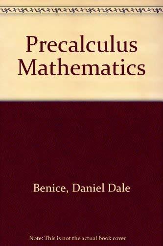 9780136955030: Precalculus Mathematics