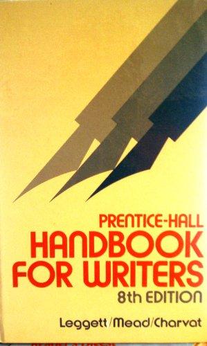 9780136957348: Prentice-Hall handbook for writers
