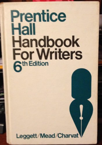 9780136957423: Prentice-Hall handbook for writers