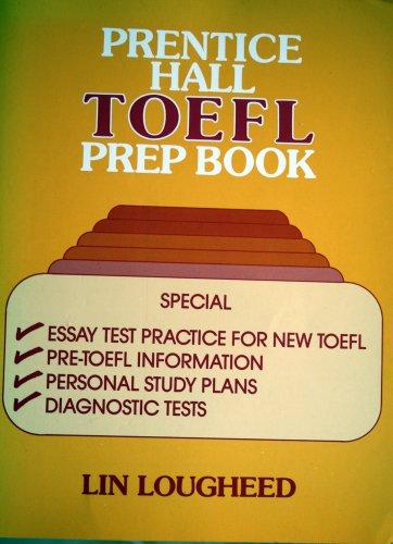 9780136966005: Prentice-Hall TOEFL Prep Book