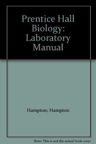 9780136966333: Prentice Hall Biology: Laboratory Manual