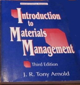 9780136988700: Introduction to Materials Management (Prentice Hall international editions)