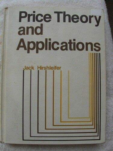 9780136996453: Price Theory and Applications