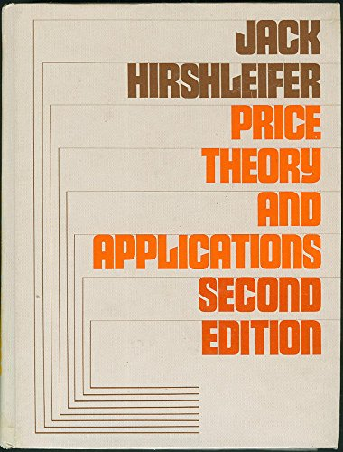 9780136997108: Price Theory and Applications