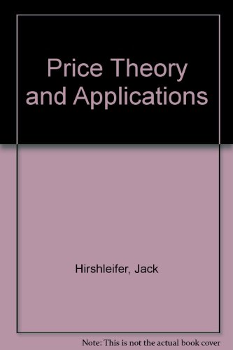 9780136997283: Price theory and applications: Instructor's manual