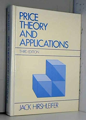 9780136997368: Price theory and applications