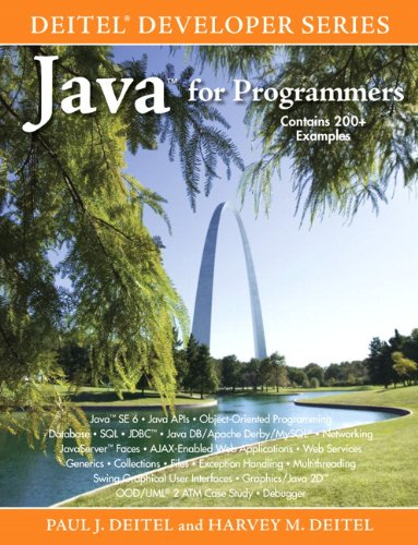 Java for Programmers (9780137001293) by Paul J. Deitel; Harvey M. Deitel