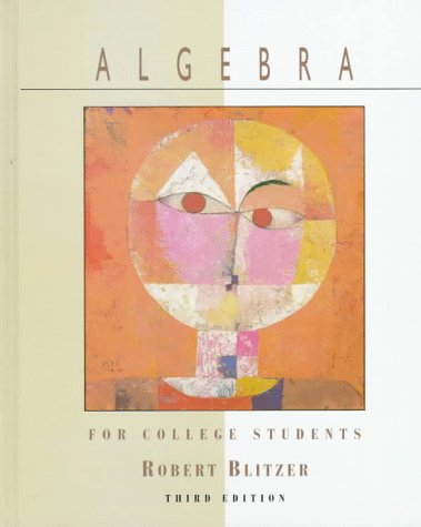 9780137002122: Algebra for College Students