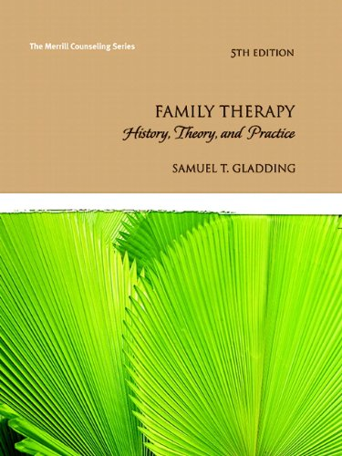 9780137002191: Family Therapy: History, Theory, and Practice (5th Edition) (Merrill Counseling)