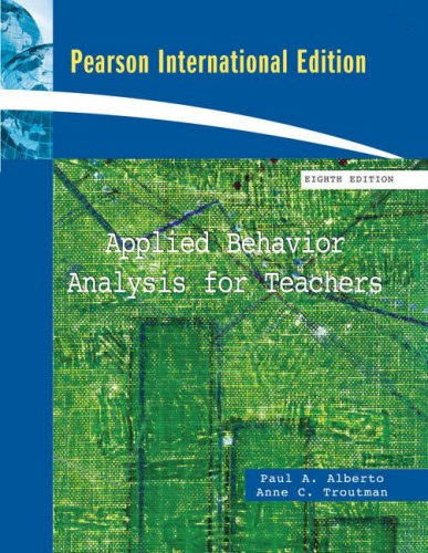 9780137003648: Applied Behavior Analysis for Teachers