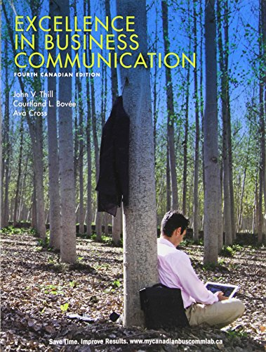9780137003990: Excellence in Business Communication 4th Edition