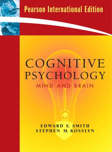 9780137004546: Cognitive Psychology: Mind and Brain. Edward E. Smith, Stephen M. Kosslyn