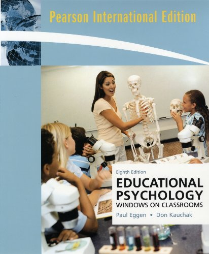 9780137004591: Educational Psychology: Windows on Classrooms