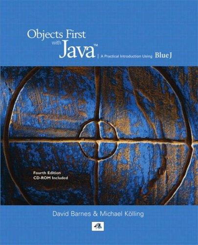 9780137005628: Objects First with Java: A Practical Introduction Using BlueJ