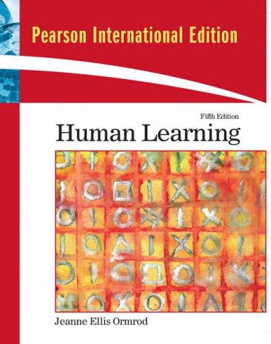 9780137006021: Human Learning