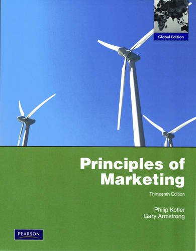 9780137006694: Principles of Marketing