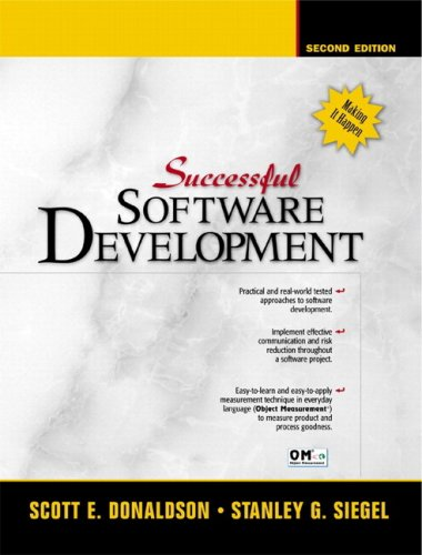 9780137007776: Successful Software Development (2nd Edition)