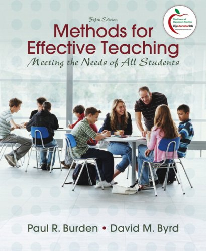 9780137008049: Methods for Effective Teaching: Meeting the Needs of All Students (5th Edition)