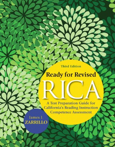 9780137008681: Ready for Revised RICA: A Test Preparation Guide for California's Reading Instruction Competence Assessment (3rd Edition)