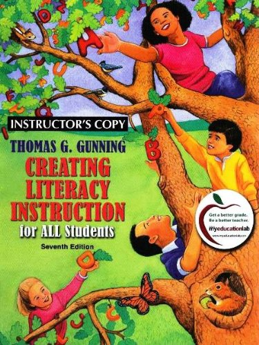 9780137009268: Creating Literacy Instruction for All Students