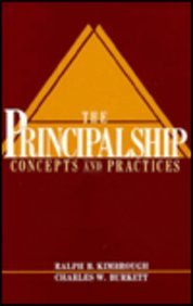9780137009640: The Principalship: Concepts and Practices