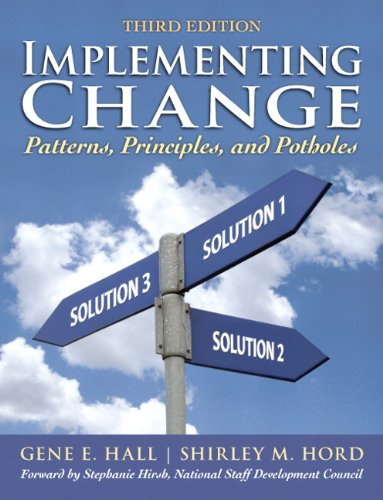 9780137010271: Implementing Change: Patterns, Principles, and Potholes (3rd Edition)