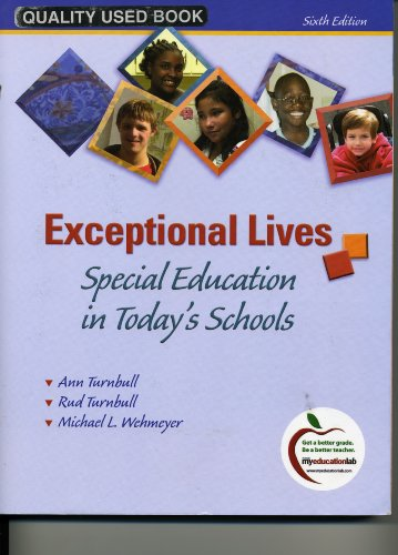 9780137011049: Exceptional Lives, Special Education in Today's Schools