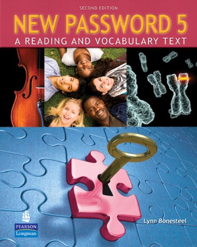 9780137011728: New Password 5: A Reading and Vocabulary Text (without MP3 Audio CD-ROM)