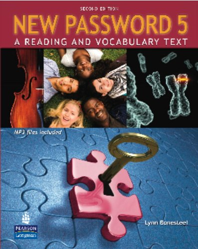 9780137011735: New Password 5: A Reading and Vocabulary Text (with MP3 Audio CD-ROM)