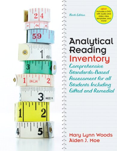 9780137012923: Analytical Reading Inventory: Comprehensive Standards-Based Assessment for All Students Including Gifted and Remedial