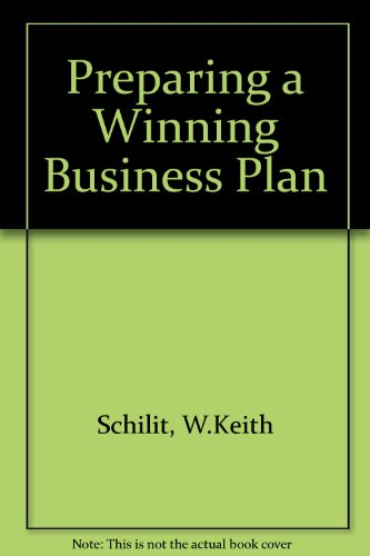 9780137013012: The Entrepreneur's Guide to Preparing a Winning Business Plan and Raising Venture Capital