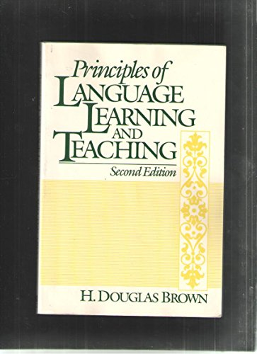 9780137014910: Principles of Language Learning and Teaching